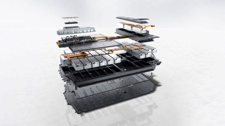 Taycan Turbo S: Performance-Batterie Plus mit 93,4 kWh, 2019, Porsche AG