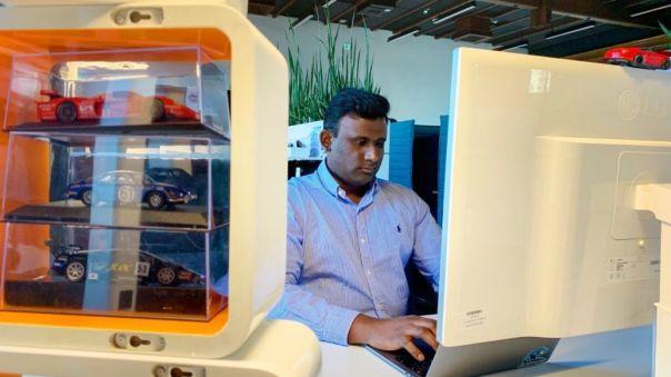 Sridhar Mamella, Plattform-Manager Data Streaming bei Porsche, 2020, Porsche AG