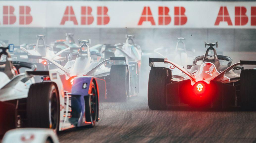 formula e debut season overall for porsche