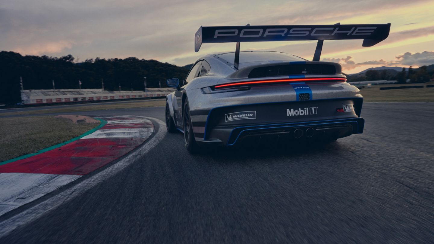 the new 911 gt3 cup
