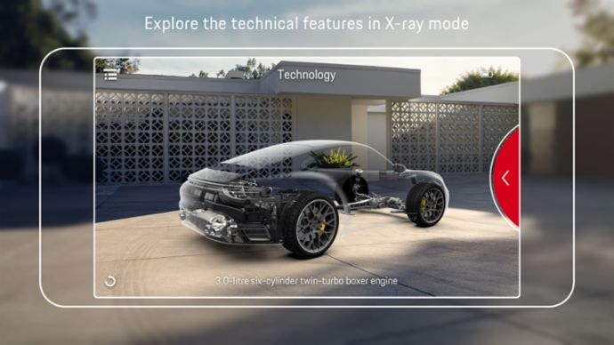 Porsche Augmented Reality Visualizer App, 2019, Porsche AG