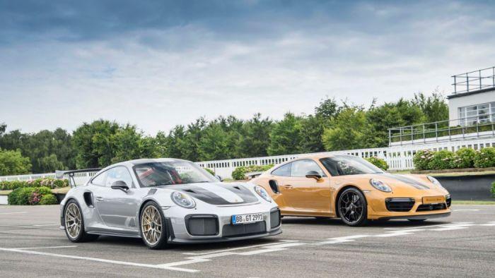 911 GT2 RS, 911 Turbo S Exclusive Series, 2017, Porsche AG