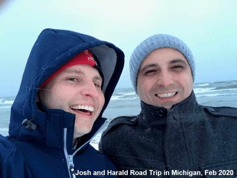 Josh's Trip to Michigan with Dr. Harald Teufelsbauer