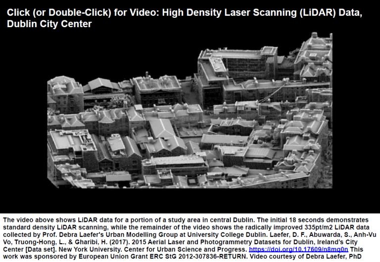 High Density Scanning(LiDAR) Data