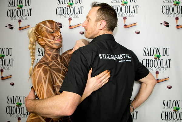 BODY PAINTING CACAO PAR WILLIAM RAYNAUD