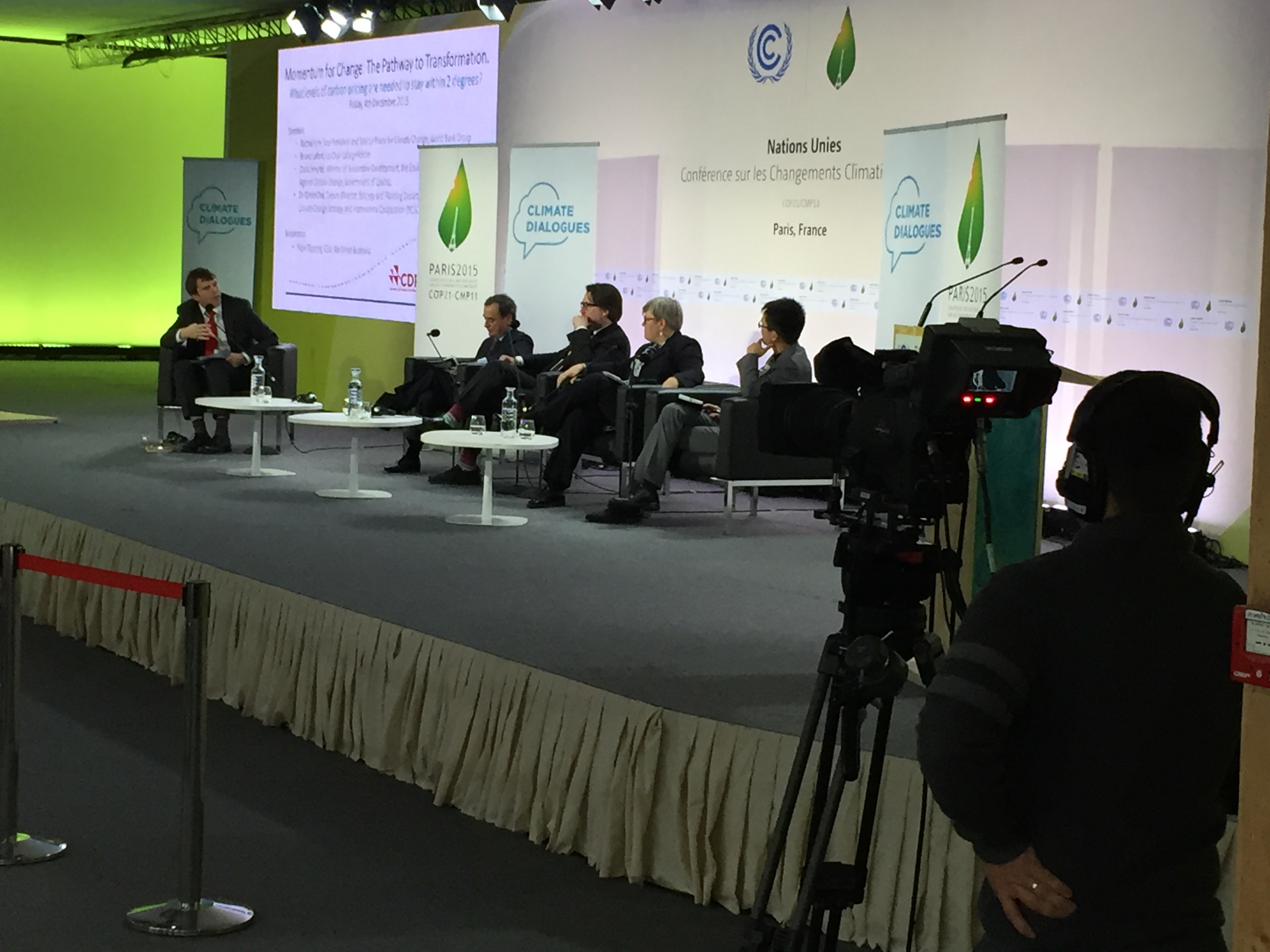 carbon pricing side event COP21