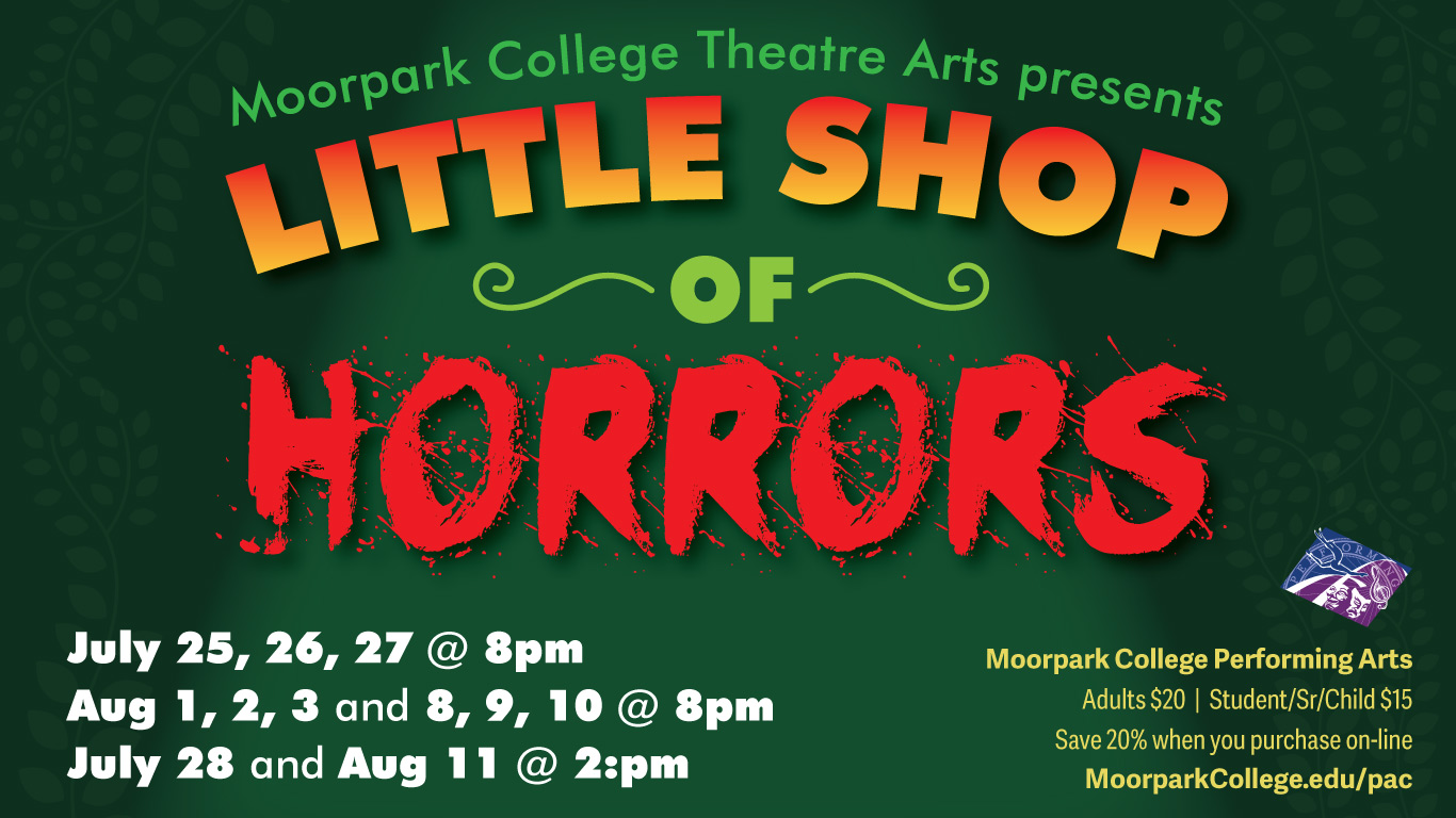 Little Shop Of Horrors Presented By Moorpark College Performing