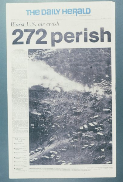 American Airlines Flight 191 Crash 1979 Newsroom History