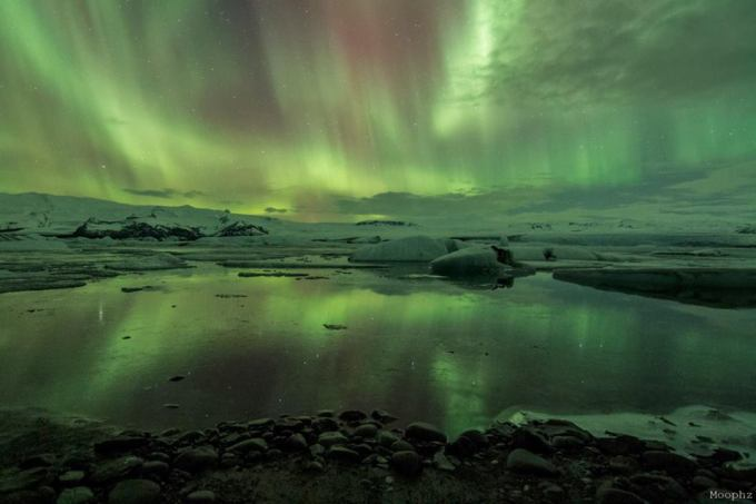 Aurora Borealis – Iceland Photo source: Moophz