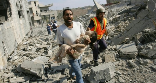 Qana, on July 30, 2006 Source: AFP/Nicolas Asfouri