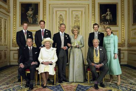 Уильям Гарри Королева Елизавета II