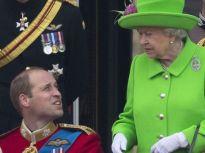 Королева Елизавета II Уильям