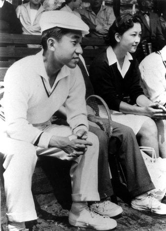 Принц Акихито и Митико Сёда, 1958 г