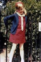 Диана в Кадоган Плейс Гарденс, Лондон летом 1968 года