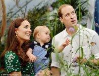 Фотография, сделанная в Лондоне 2 июля 2014 года, чтобы отметить первый день рождения принца Джорджа