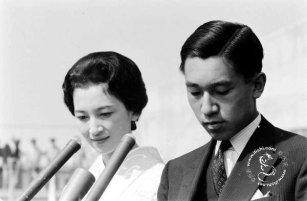 Митико и Акихито, 1960г