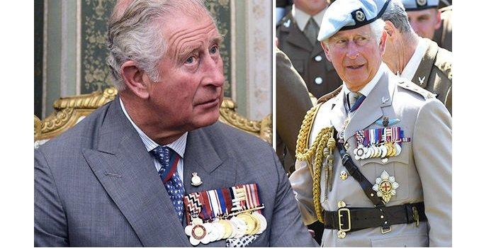 У принца Чарльза девять наград, но он никогда не был на войне