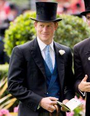 Принц Гарри выглядел щегольски в Королевском Аскоте в июне 2015 года.