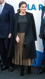 "5 ноября 2018 Королева Летиция приняла участие в 20-летии газеты ""Ла Разон"" в Мадриде"