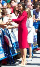 8 сентября 2018 На мероприятии в Ковадонге Летиция была в платье Carolina.
