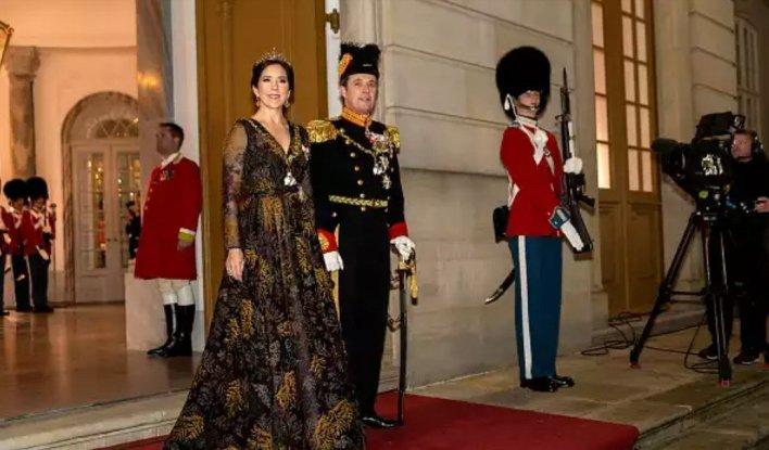 Наследный принц Фредерик и кронпринцесса Мария