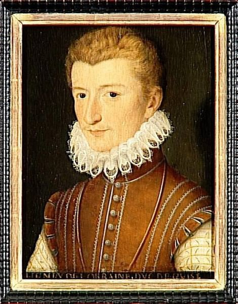 Генрих де Гиз в молодости