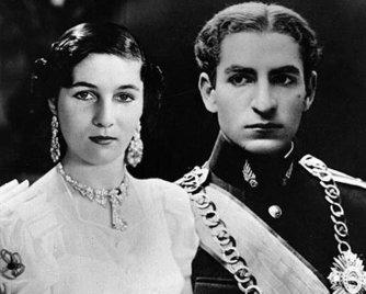Принцесса Фавзия и Мохаммед Реза Пехлеви, 1939 | Фото: aeslib.ru