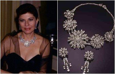 Бриллиантовое ожерелье от Bulgari «Хризантемы»