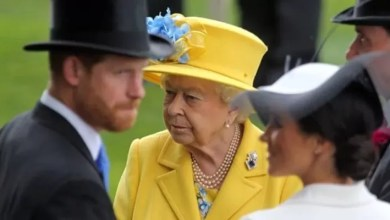 Photo of Meghan, pray for the Queen's health. Otherwise it will be worse