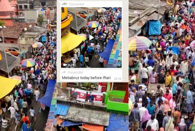 12 1 - Fact Check: Old Video Made Viral with Claim of Iftar Market in Kolkata