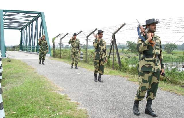 2 1 - Border Security Force Celebrates 56th Raising Day