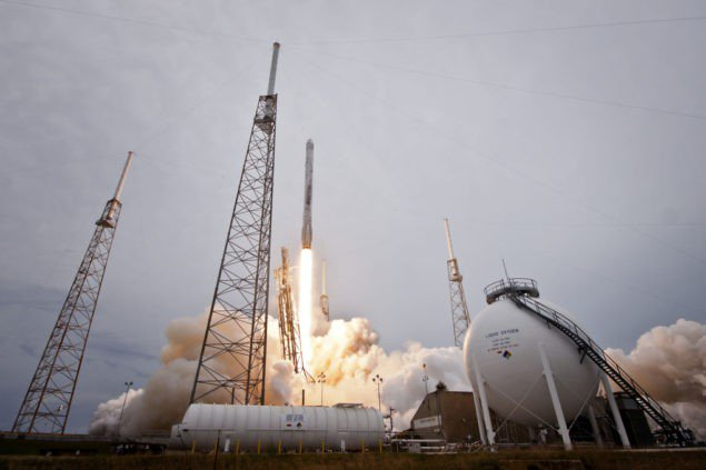 Ракеты Falcon SpaceX 9