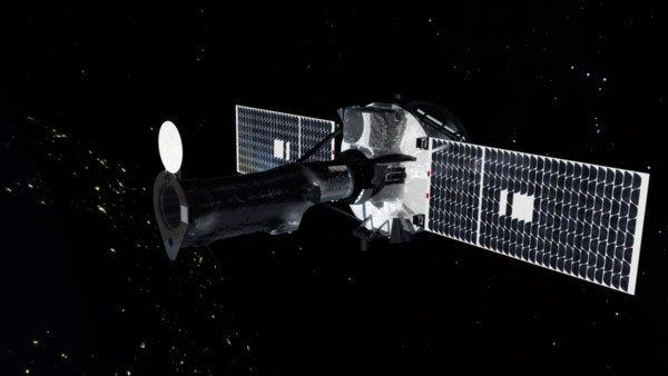 ИРИС, солнечная обсерватория, вращающаяся вокруг Земли, захватил солнечное извержение. Фото любезно предоставлено NASA Goddard Space Flight Center / Концептуальная Лаборатория Изображение