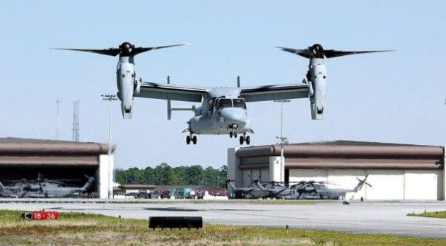 самолет Boeing V-22 Osprey