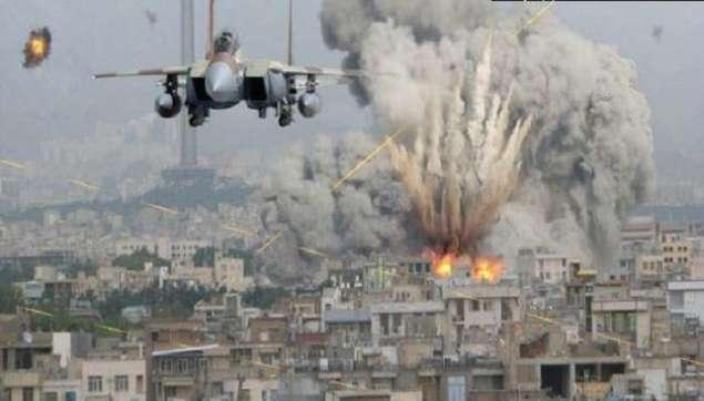 бомбардування Сирії