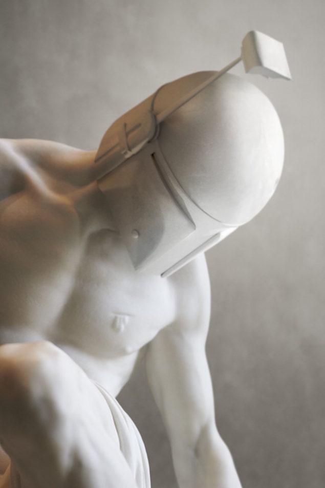 персонажи star wars в миксе с античными скульптурами
