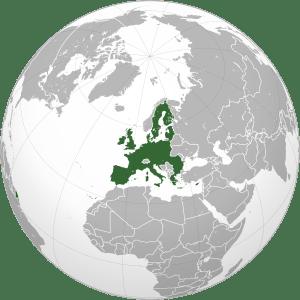 Європейський Союз на глобусі. Автор — S. Solberg J