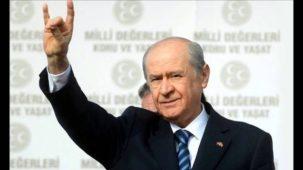 Devlet Bahceli, the nationalist MHP leader