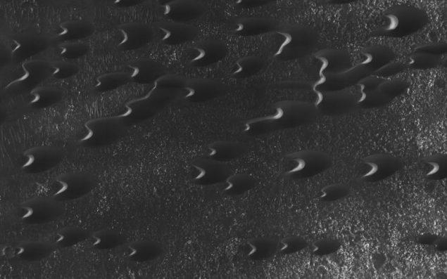 """Марсіанські """"бархани"""" представлені у приголомшливих нових фото"""