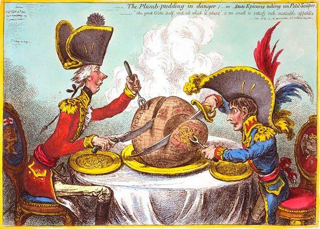 карикатура 1805 року