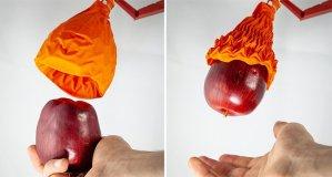 Дизайн орігамі допомагає роботу піднимати крихкі й важкі предмети (відео)