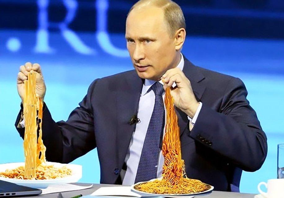 """Террорист Путин опять """"защищает"""" права украинцев"""