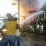 Quamina Street fire leaves 12 homeless