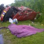 Three die in Coverden smash up