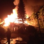 Dunstan Barrow's Linden home gutted by fire