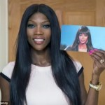 Guyanese woman in UK finds fun in being Naomi Campbell look alike