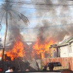 Fire allegedly started by 4-year-old leaves family homeless