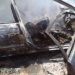 Man commits suicide by setting himself ablaze in car
