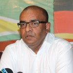 APNU+AFC Government welcomes Jagdeo to Parliament…says he still has questions to answer