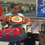 "Gwendolyn O'Neil ""beat and beat out"" as she captures world boxing title"